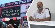 """Pit Stop Otomotiv Servis yetkilisi AK Parti Meclis Üyesi Osman Tekbaş, """"Uşak'a kaliteli hizmet vermeye çalışacağız."""""""