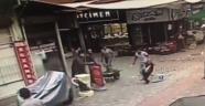 Mende pazarında Nohut satan çocuğa 5 çocuk bıçakla saldırdı.