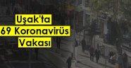 Uşak'ta 10 ölü ve  69 korona Virüs Vaka Sayısı!