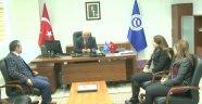 Egem Tv Yönetim Kurulu Başkanı Soner Demiröz ve Egem Tv Genel Müdürü Utku Demiröz Uşak Üniversitesi Rektör Yardımcısı. Prof. Dr. Ömer Karahan'a Hayırlı Olsun Ziyaretinde Bulundu.
