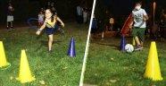 Çocuklara yarış parkuru sürprizi
