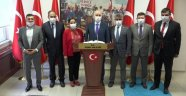 Ulaştırma ve Altyapı Bakanı Adil Karaismailoğlu'ndan Uşak Valiliği'ne ve Uşak   Belediyesi'ne Ziyaret!