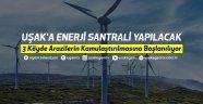 Uşak'a Enerji Santrali Yapılacak.. 3 köyde arazilerin kamulaştırılmasına başlanılıyor! İşte detaylar...