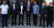 Kütahya Belediye Başkanı Prof. Dr. Alim IŞIK Covid-19 Denetimlerine Katıldı