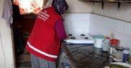 Aslanapa'da yaşlı ve kimsesizlere evde bakım hizmeti