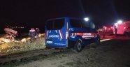 Uşak'ta traktörün altında kalan Afgan uyruklu genç hayatını kaybetti