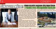Simav Belediye Başkanı Süleyman Özkan'dan SİMAV'LIYA MÜJDE!