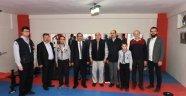 Vali Salim Demir, Uşak Çevre Eğitim Kültür Spor ve İzcilik Kulübü Derneği (ÇEVKA)  Yönetim Kurulu Başkanı Erol Tekin ve yönetim kurulu üyelerini ziyaret etti.