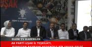 Ak parti Uşak il teşkilatı tarafından parti binasında bayramlaşma töreni düzenlendi.