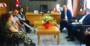 AK Parti Uşak Milletvekili Dr. İsmail Güneş SMA Hastasıyla Görüştü