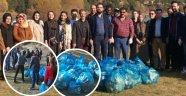 AK Parti Uşak Teşkilatından Çevre Temizliği