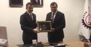 Bakan Pakdemirli'den, Başkan Çakın'a Ziyaret