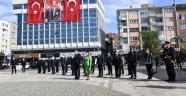 Cumhuriyetimizin Kuruluşunun 97.Yıl Dönümü Kutlamaları Çelenk Sunma Töreni ile Başladı