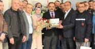 Değişimin Emektarlarından Başkan Cahan'a Anlamlı Ziyaret