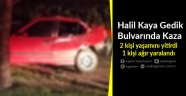 Halil Kaya Gedik Bulvarında Kaza