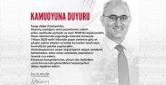 Kütahya Belediye Başkanı Prof. Dr. Alim Işık'tan Duyuru!