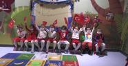 Kütahya Belediyesi Gündüz Çocuk Bakımevi'nde, eğitim gören minik öğrenciler 29 Ekim Cumhuriyet Bayramı'na özel etkinlik düzenledi.