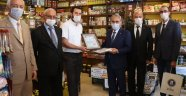 Kütahya Belediyesi'nden, Türkçe Tabela Asan İşyerine Teşekkür Belgesi