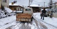 Kütahya'nın Pazarlar Belediyesi'nden karla mücadele seferberliği