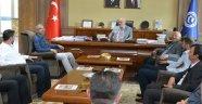 Memur-Sen Uşak İl Temsilciliğinden Rektör Prof. Dr. Ekrem Savaş'a Ziyaret