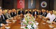 MÜSİAD Genel Başkanı Abdurrahman Kaan, UTSO'ya Ziyaret Gerçekleştirdi