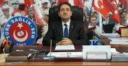 Türk Sağlık-Sen Uşak Şube Başkanı Mehmet Özkuk, Bazı Sağlık Sendikalarını eleştirdi