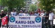 Türkiye Kamu-Sen'den Basın Açıklaması Yaptı