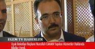 Uşak Belediye Başkanı Nurullah Cahan Kentsel Dönüşüm Alanı Ve Battı Çıktı Hakkında Bilgiler Verdi.