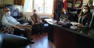 Uşak Kanserle Savaş Derneği Yönetim Kurulu'ndan, Egem TV'ye Ziyaret
