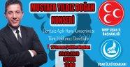 Uşak Ülkü Ocakları ve MHP Uşak İl Başkanlığı'ndan Ücretsiz Açık Hava Konseri