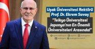 """Uşak Üniversitesi Rektörü Prof. Dr. Ekrem Savaş """"Teikyo Üniversitesi, Japonya'nın En Önemli Üniversiteleri Arasında!"""""""