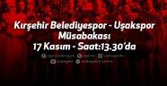 Uşakspor, Kırşehir Belediyespor'a konuk oluyor