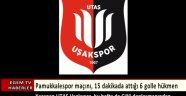 UTAŞ Uşakspor, bu hafta da Çiğli deplasmanından galibiyetle döndü.