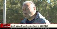 Utaş Uşakspor Teknik Direktörü Hayrettin Gümüşdağ futbol anlayışının Agresif bir futbol anlayışı olduğunu söyledi.