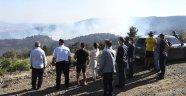 Vali Funda Kocabıyık, Banaz'da çıkan orman yangınlarını söndürme çalışmalarını yerinde inceledi