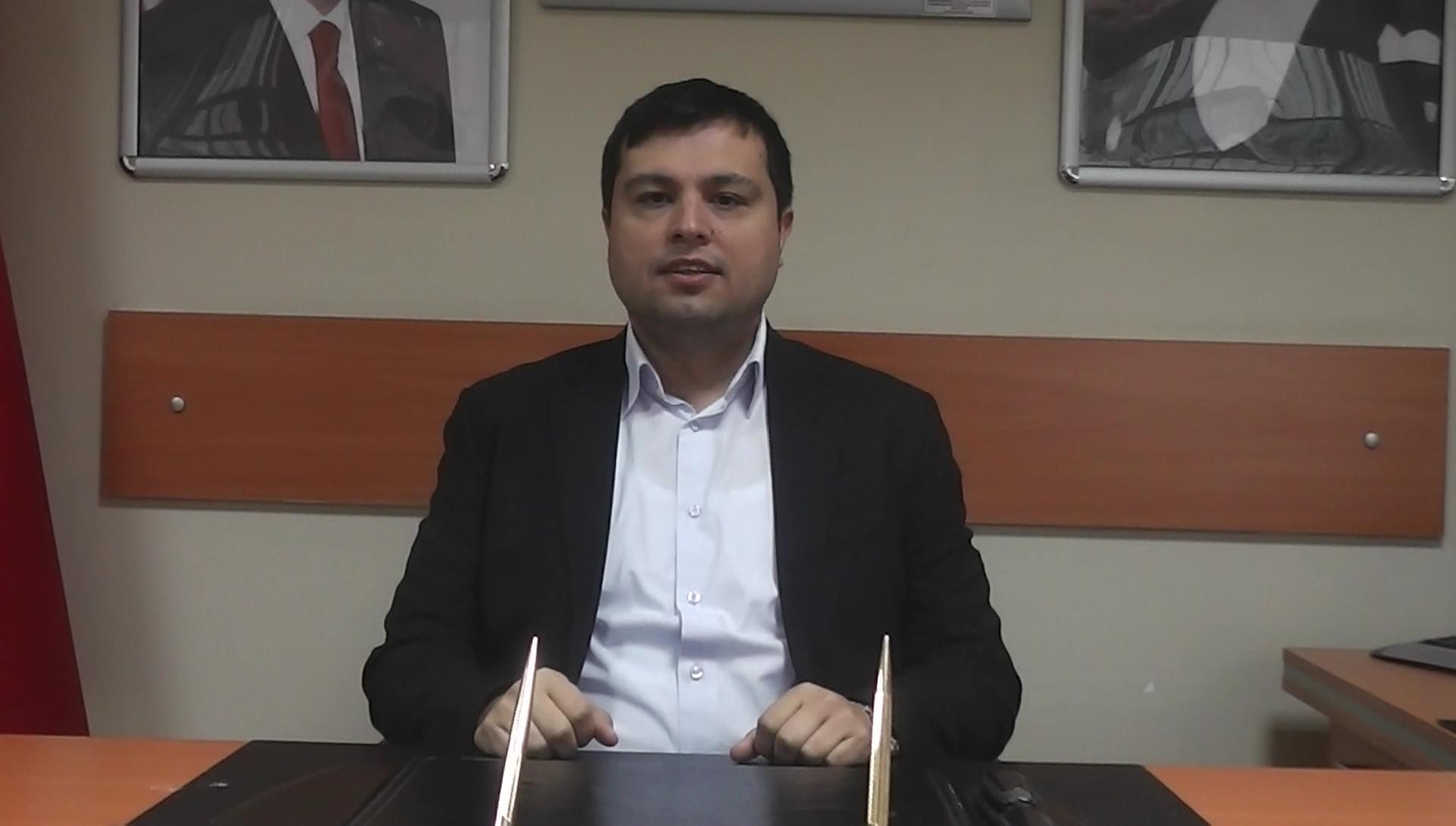"""Ak Parti Uşak Belediye Başkan Adayı Mehmet Çakın """"Seçimlerde başarı ile çıkacağımızdan en ufak bir tereddüdümüz bulunmamaktadır"""""""