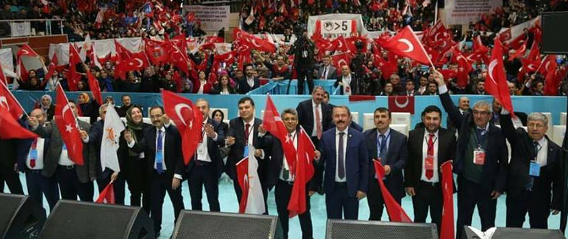 AK Parti Uşak İl Başkanı Mehmet Çakın, '24 Haziran'da yapılması planlanan seçimlere parti teşkilatları olarak hazırız'