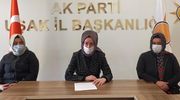 """AK Parti Uşak İl Kadın Kolları Başkanı Hilal Sabancı """"Kadınlara yönelik ayrımcılık ırkçılıktan beterdir"""""""