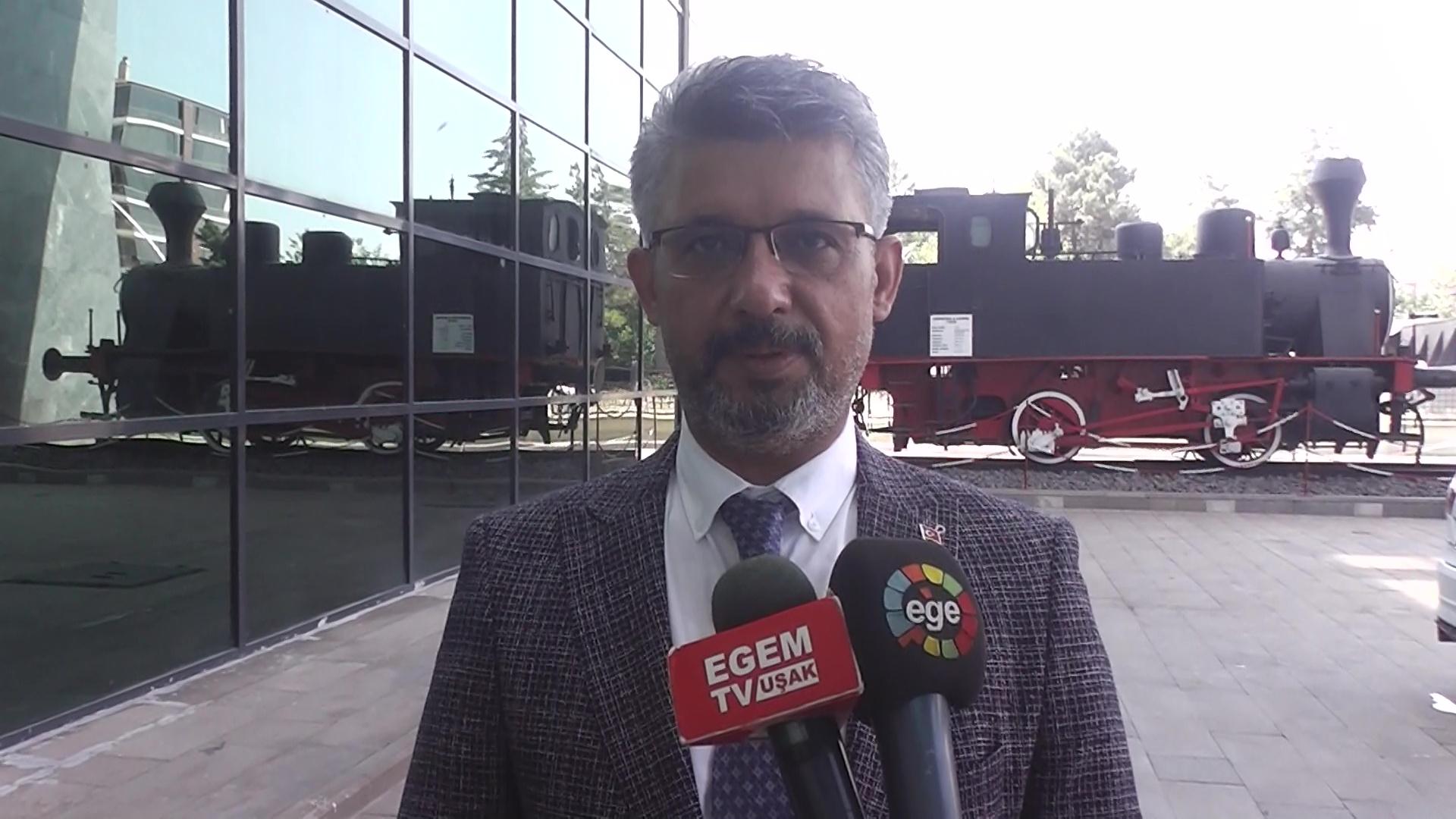 """AK Parti Uşak Milletvekili Mehmet Altay """"Hızlı Tren Projesi ile Uşak'ta Çok Önemli Proje   Hayata Geçmiş Olacak"""""""