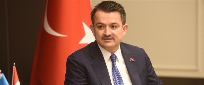 Bakan Bekir Pakdemirli, Afyon programının ardından hava yolu ile 15.30'da Uşak'a gelecek.