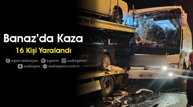 Banaz'da Kaza