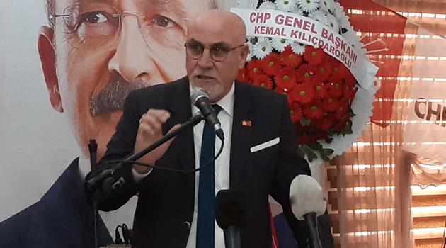 CHP Uşak İl Başkanı Nadi Sancar'dan 37. İl Kongresi'nde Veda Konuşması