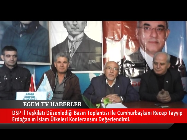 DSP İl Başkanı Hasan Hüseyin Alçılıoğlu