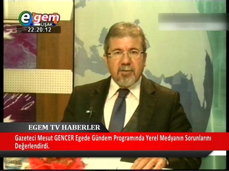 Egede Gündem Programında Gazeteci Mesut Gencer Yerel Medyanın Sorunlarını Değerlendirdi.