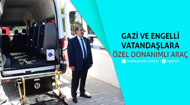 Gazi ve Engelli Vatandaşlara Özel Donanımlı Araç