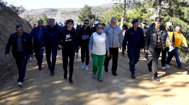 Göğem Zafer Tabiat Parkında Doğa Yürüyüşü...