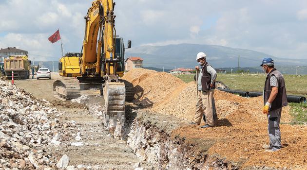 Kütahya Belediyesi, Altyapı Çalışmalarını Titizlikle Sürdürüyor