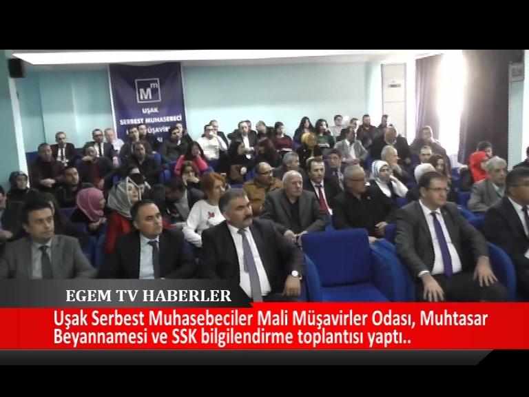 Muhtasar Beyannamesi ve SSK Bilgilendirme Toplantısı Yapıldı.