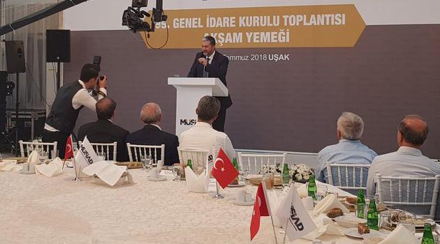 MÜSİAD 99.  Genel İdare Kurulu toplantısını gerçekleştirildi.