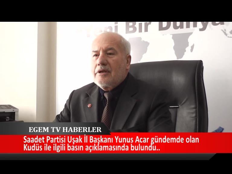 Saadet Partisi İl Başkanı Yunus Acar